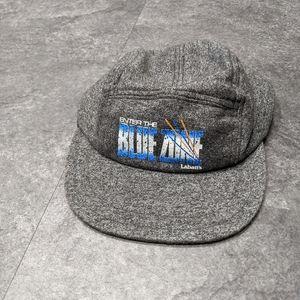Labatts heathered grey 5 panel camper hat